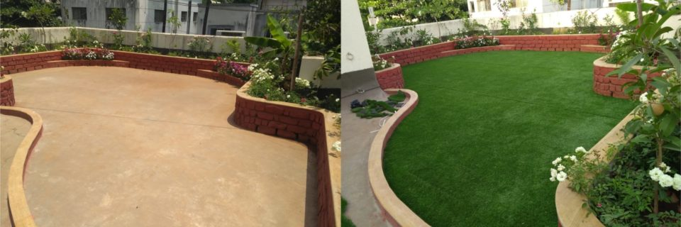 Artificial Grass is the Solution